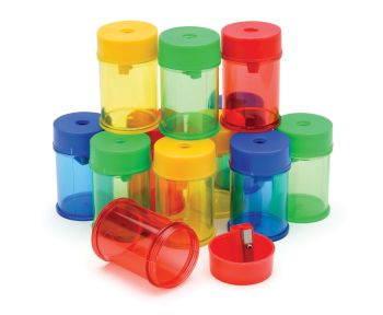 Canister Single Hole Sharpener - Pack of 12