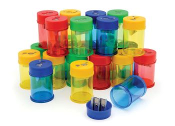 Canister Double Hole Sharpener - DPSM224 - Pack of 24