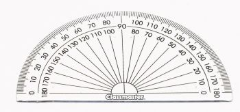 Classmaster Protractor 180° - Pack of 10