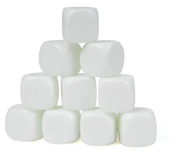 Classmaster Dice Blank 22mm - Pack of 10