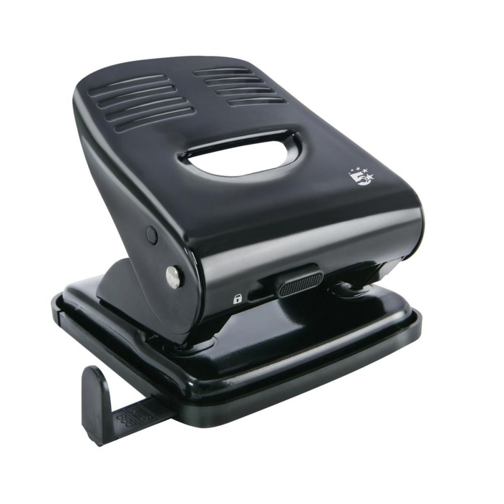 Standard Two Hole Punch Black