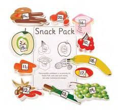 Sweet Counter - Snack Pack - Per Set