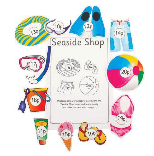Sweet Counter - Seaside Shop - Per Set