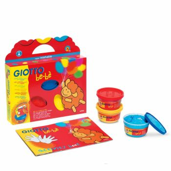 Giotto Be-be Super Finger Paints Activity Set - Assorted - 100ml - Per Set