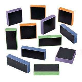 Chalkboard Blocks - Assorted - HE1580956 - Pack of 12