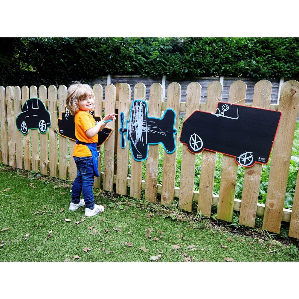 Transport Chalkboards - Assorted - 65 x 55cm - Pack of 4