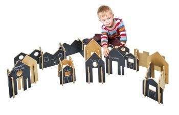 Happy Architect Create And Play Village - Assorted - HE1673169 - Pack of 28