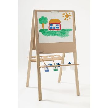 Wooden 2-Sided Easel - 109 x 70 x 64cm - Each