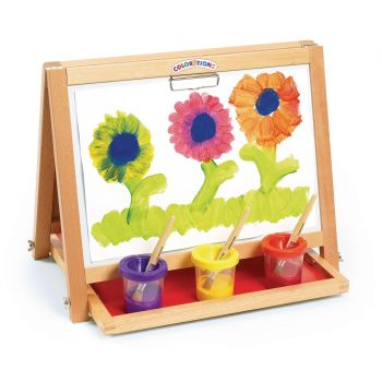 Wooden Magnetic Desktop Easel - 55 x 43 x 45cm - Each