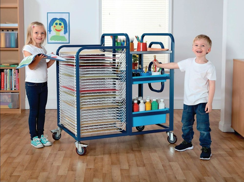 Tuf™ Art Trolley - Each