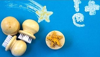 Easy Grip Brushes - Assorted - Pack of 4