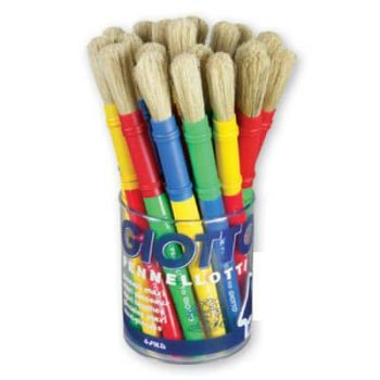 Giotto Paint Brushes - Tub of 30