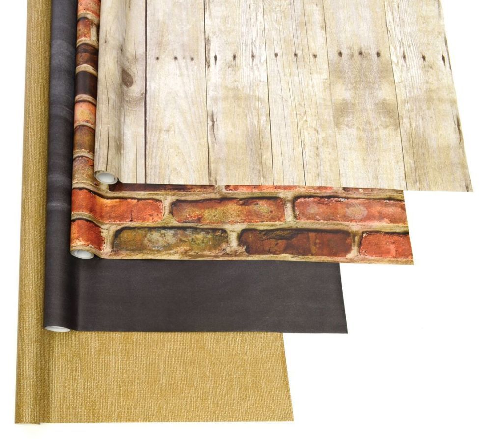 Fadeless Designs Natural Elements Assortment - 1218mm x 3.6m - Pack of 4