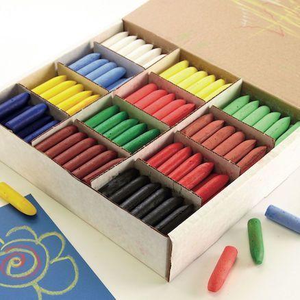Coloured Chubbi Stumps & Chunki Chalks Combination Pack - Assorted - 57 x 1