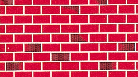 Fadeless Designs TuTone Brick - 1218mm x 3.6m - Each