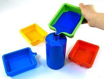 Paint Saver Trays - Assorted - 14 x 11.5cm - Pack of 4