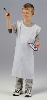 Childrens Disposable Aprons - Pack of 100