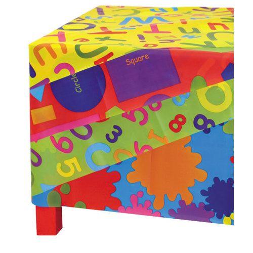 Educational Splash Mats - Assorted - 100 x 150cm - Pack of 4