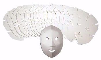 Fold Up Fun Masks - 21 x 27cm - R52076 - Pack of 40