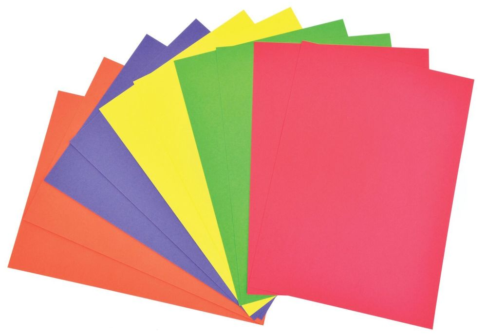 A4 Bright Card - 230 microns/175-185gsm - 210 x 297mm - Pack of 100