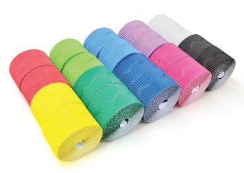 Corrugated Scalloped Border Rolls Value Pack 1 - Assorted - 57mm x 7.5m - Pack of 40
