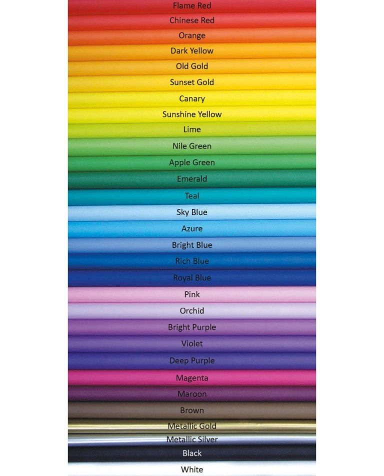 Fadeless Poster Display Roll - Please Select Colour - 1218mm x 15m - Each