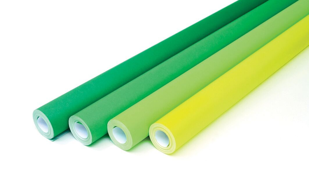Greens Collection Fadeless Poster Display Rolls - Assorted - 1218mm x 15m -