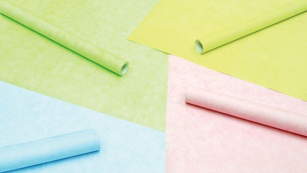 Pastel Fadeless Poster Display Rolls - Assorted - 1218mm x 3.6m - Pack of 4