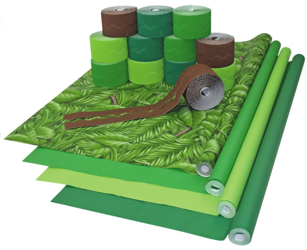 Forest Green Display Pack - Assorted - Class Pack