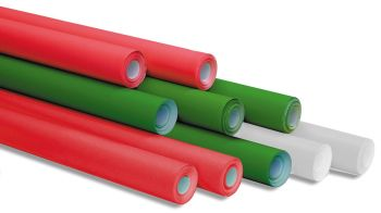 Christmas Colour Poster Display Rolls - Assorted - 76cm x 10m - Pack of 10