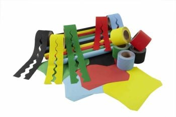 Classic Colours Themed Classroom Display Pack - Assorted - Class Pack