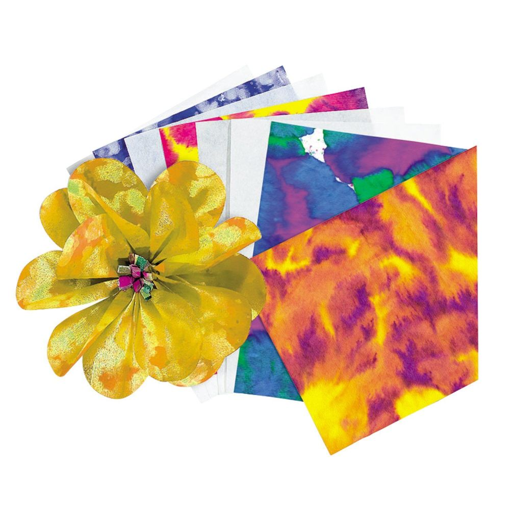 Colour Diffusing Paper - Sheets - 30 x 46cm - Pack of 50