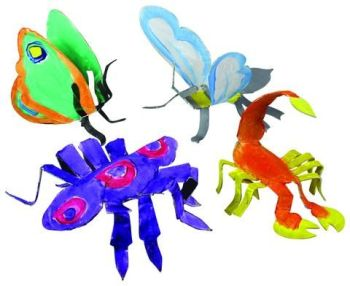 Sculpt and Paint - Insects - Assorted - 24 x 14cm - Pack of 24
