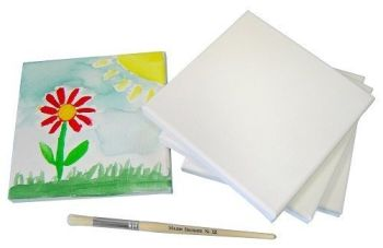 Stretched Canvas - 15 x 15cm - Each