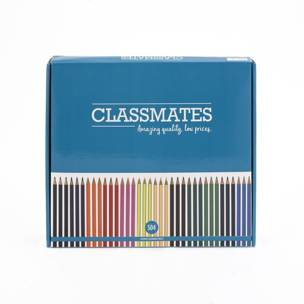 Classmates Colouring Pencils - Assorted - Pack of 504