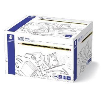 Staedtler Noris HB Blacklead Pencil - Class Pack of 600