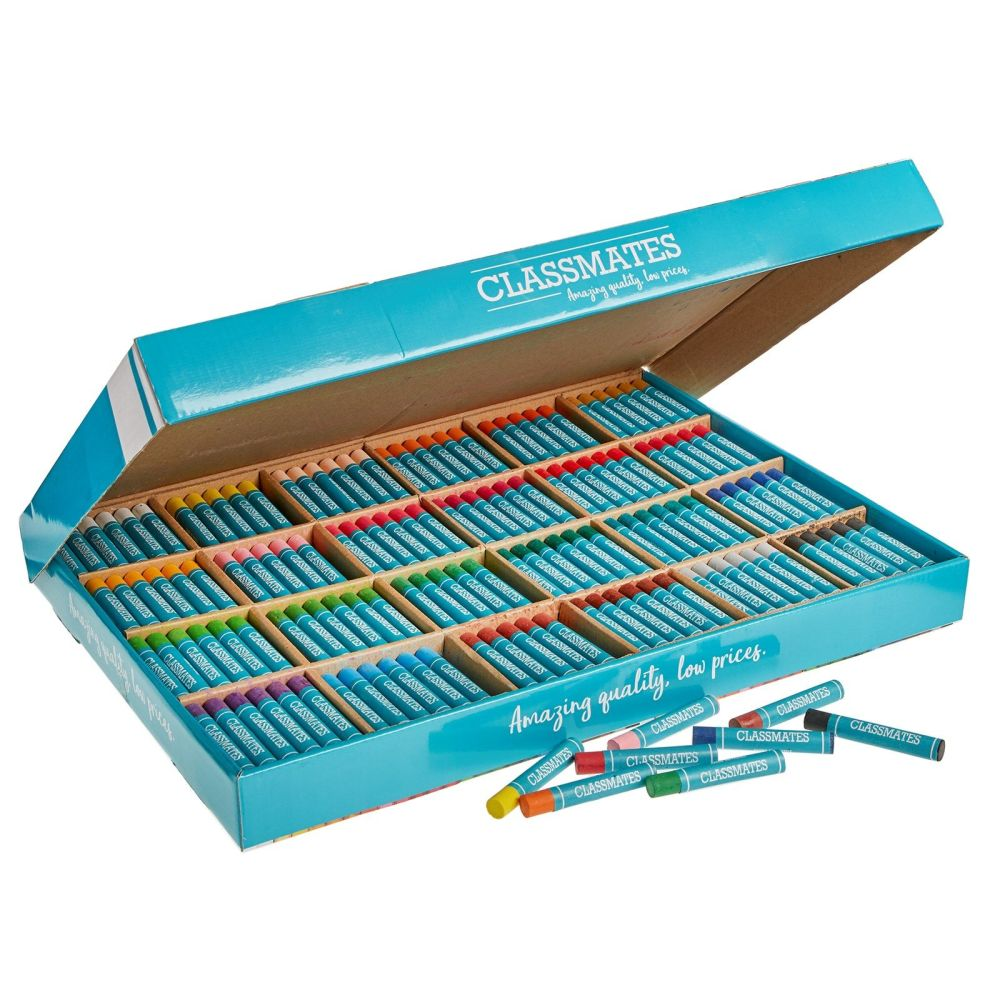 Classmates Oil Pastels Class Pack - Assorted - Jumbo Size - Pack of 432