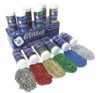 Glitter Shakers - Please Select Colour - 250g Shaker - Each