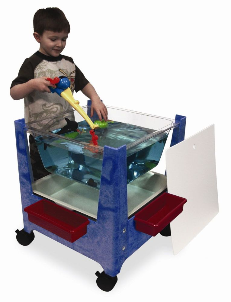 Clear View Sand and Water Activity Tray - 53 x 53 x 63.5cm - Each