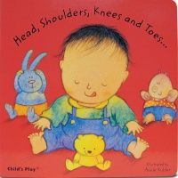 Head, Shoulders, Knees & Toes Board Book