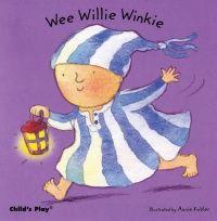 Wee Willie Winkie Baby Board Book - 21 x 21cm - Each