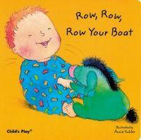 Row, Row, Row Your Boat Baby Board Book - 21 x 21cm - Each