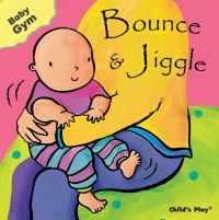 Bounce & Jiggle Baby Gym Board Book - 12 x 12cm - Each