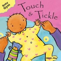 Touch & Tickle Baby Gym Board Book - 12 x 12cm - Each