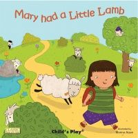 Mary Had a Little Lamb Classic Books With Holes Big Book - 43.5 x 435.cm -