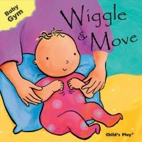 Wiggle & Move Baby Gym Board Book - 12 x 12cm - Each
