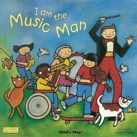 I am the Music Man Classic Books With Holes Big Book - 43.5 x 43.5cm - Each