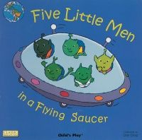 Five Little Men in a Flying Saucer Classic Books With Holes Big Book - 43.5