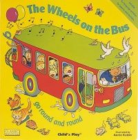 The Wheels on the Bus Classic Books With Holes Big Book - 43.5 x 43.5cm - E