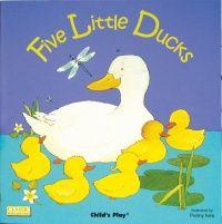 Five Little Ducks Classic Books With Holes Big Book - 43.5 x 43.5cm - Each